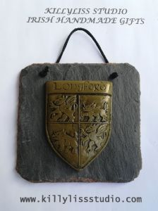 County Longford Slate wall plaque